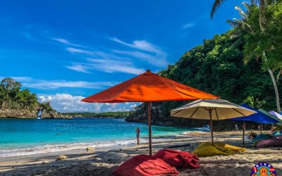 The Magnificent Crystal Bay Beach of Nusa Penida